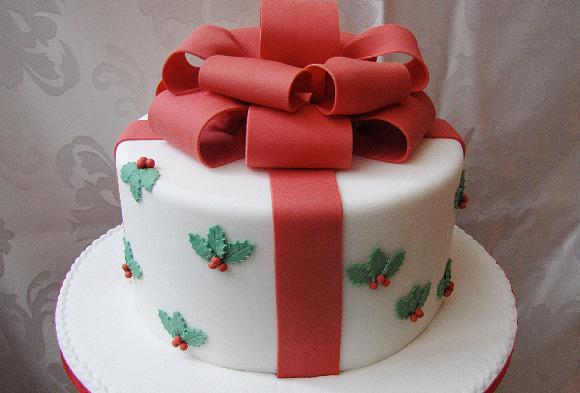 Le dolcezze di liz cake designer genova - Torte natalizie decorate ...